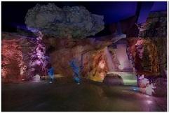 Impianto audio, luci a led, effetti ed automazione presso la piscina dell'hotel Regina Palace di Stresa (VB)
