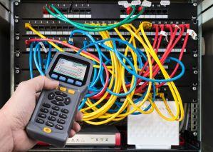 Rack di rete ethernet. Misurazione delle performances