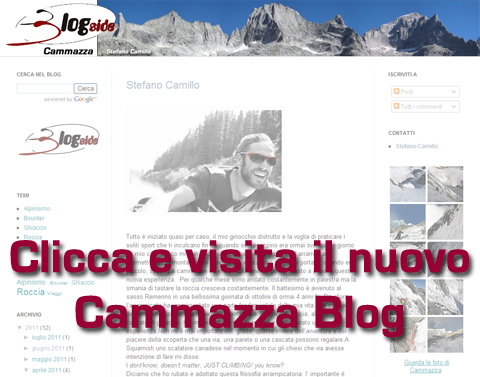 Clicca e visita il nuovo blog di Cammazza