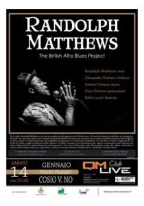 Randolph Matthews al QM live club