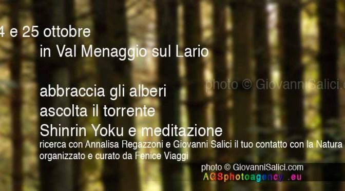 meditazione e shiru yuku sul Lago di Como