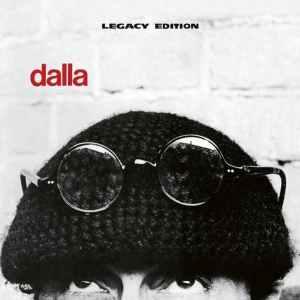 copertina del dsco Dalla 40, semi volto e testa dii Lucio Dalla
