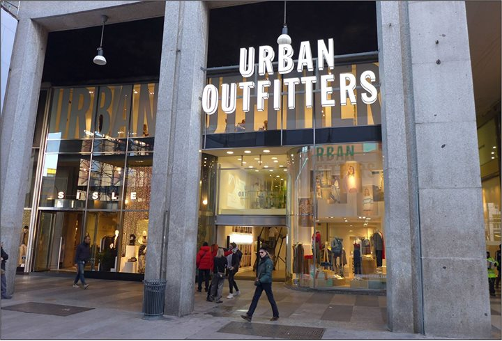 Urban Outfitters, Milan is open! MARSS AA, #milano #retail #openingday