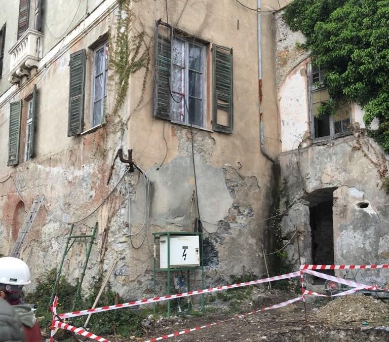 Villa Orsolino, Genova.  MARSS AA al lavoro per implementare l'intero processo #…