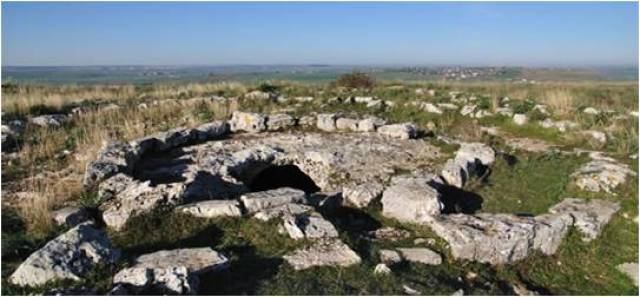 Matera archeologica tomba preistorica