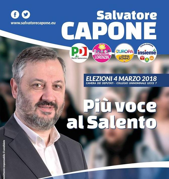I nostri Candidati all'Uninominale. Salvatore Capone