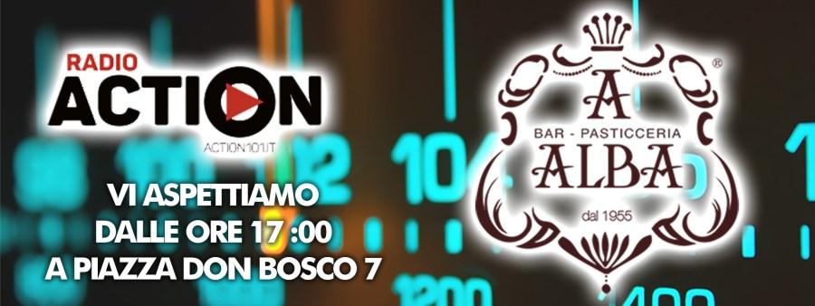 12 Maggio 2016: Diretta Radio Action al Bar Alba di P.zza Don Bosco