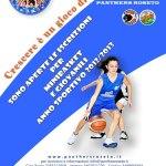 Locandina basket femminile
