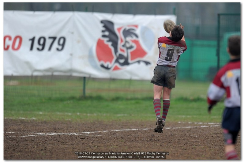 2010-03-21 Cernusco sul Naviglio-Amatori Cadetti 073 Rugby Cernusco