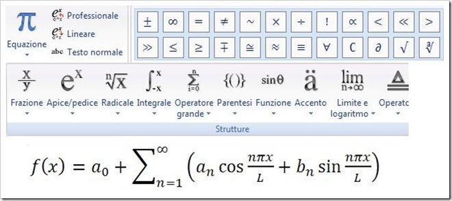 Come scrivere formule matematiche, LaTeX e altro