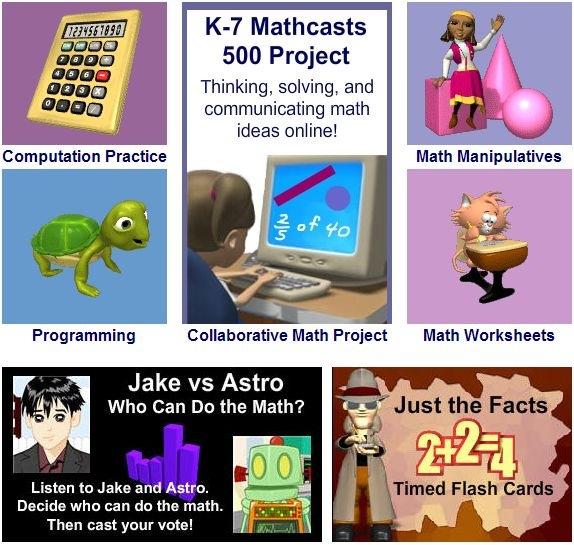 Math Playground, giocare con la matematica, per studenti di elementari e medie