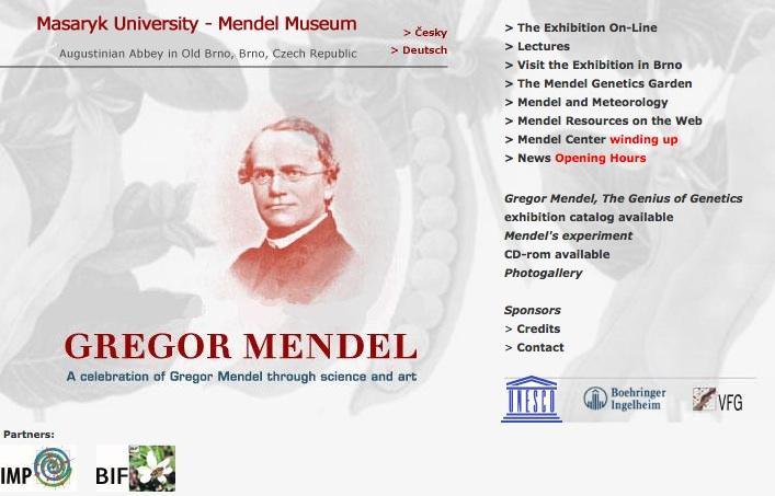 Museo dedicato a Mendel