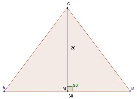 Soluzione problema relativo ai triangoli simili