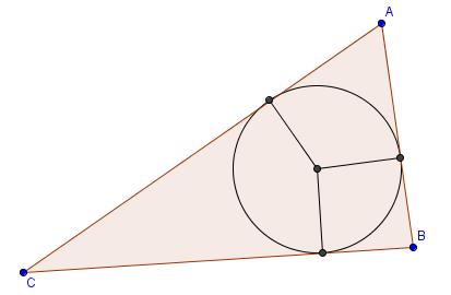 Come costruire l'incentro di un triangolo