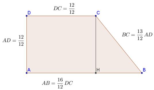 Problema sul trapezio rettangolo