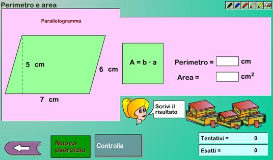 Laboratorio di Aree e Perimetri
