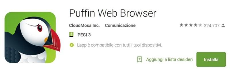 Come aprire i giochi flash su Android Nougat 7.0
