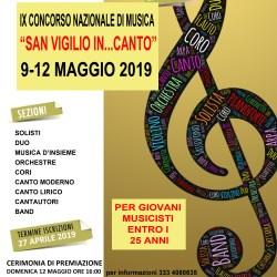"""IX Concorso Nazionale di Musica """"San Vigilio In...Canto"""""""