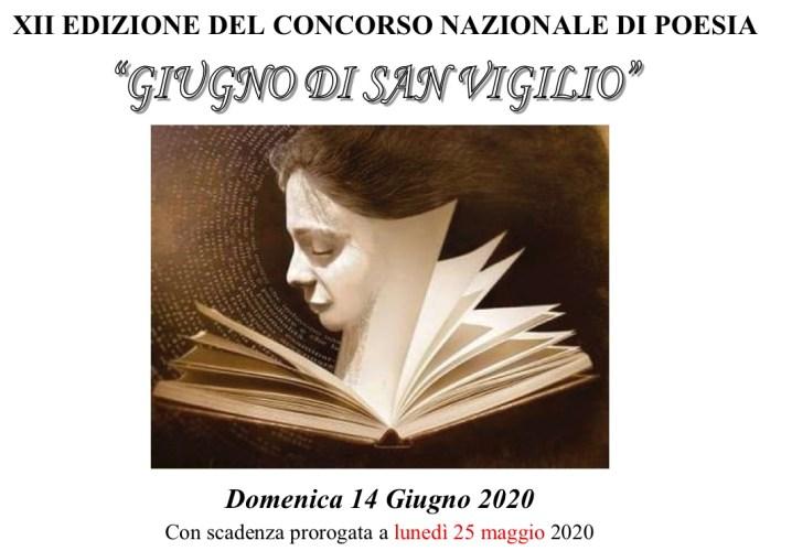"""XII Concorso Nazionale di Poesia """"Giugno di San Vigilio"""""""