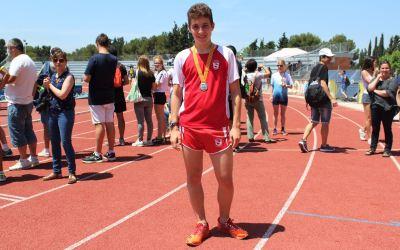 Mario Bassas Sots-campió de Catalunya de Marxa Juvenil