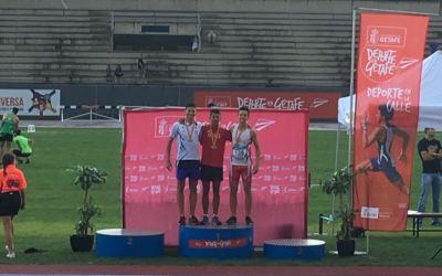 Tomàs Revilla medalla de bronze en l'estatal juvenil