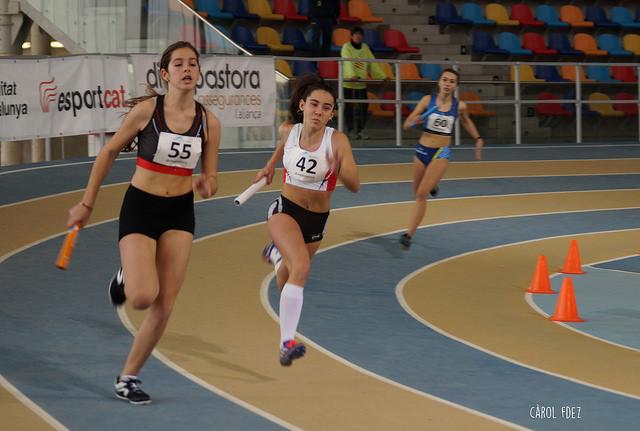 Campionat de Catalunya Sub14 i Sub16 de Relleus en pista coberta