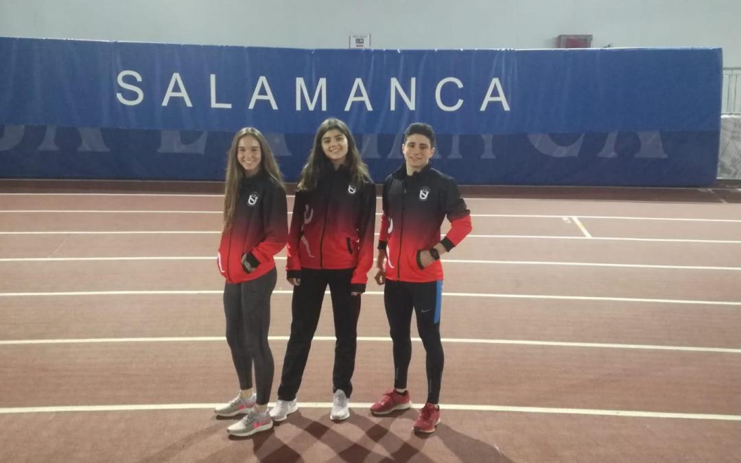 Claudia Gallego 6a en el Campionat d'Espanya Sub23 de 800