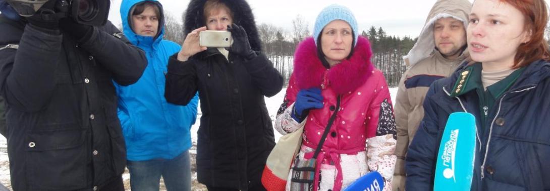 Леса Ржевского полигона Минобороны в осаде самозахватчиков