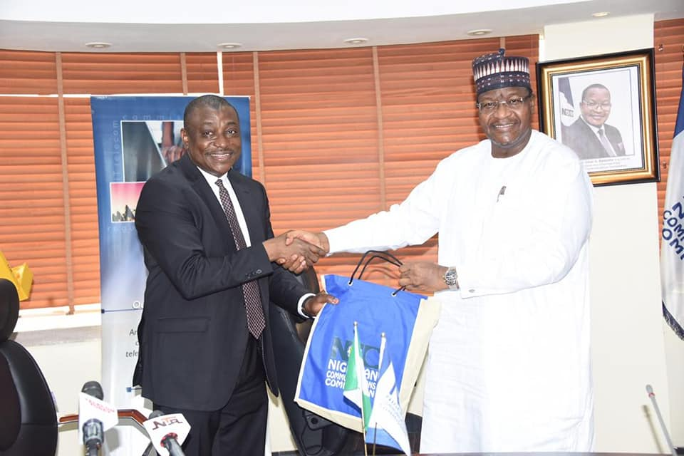 Abbas Masanawa, CEO of Nigerian Security Printing and Minting Plc Visits NCC