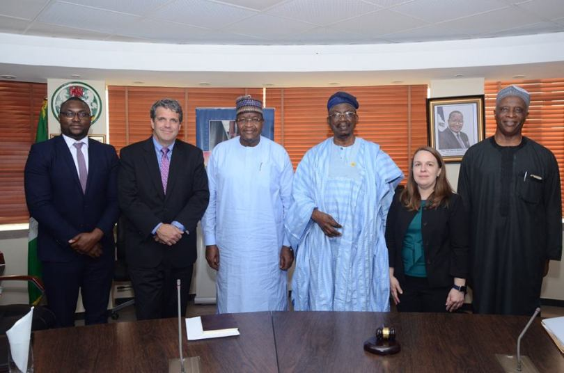 Management Team of United States Trade and Development Agency Visits NCC