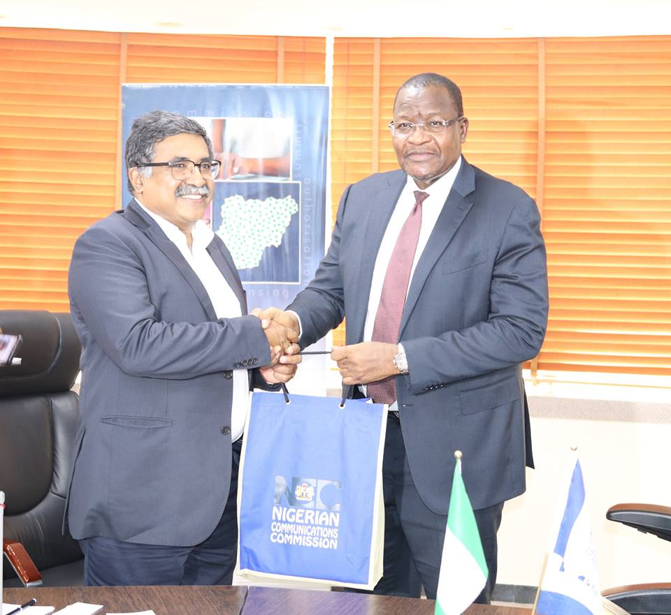 Management of BHARTI AIRTEL Group Visits NCC