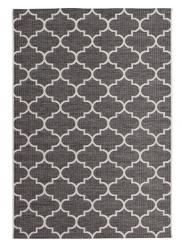 KAYO Teppich grau gemustert
