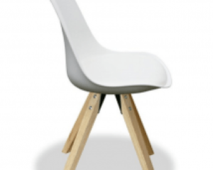 "Design chair ""Angie"" (white) BCO KMH 17031 / D-04-02"