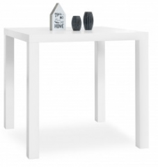 Dining Table White (80x80cm) 001981 C-03-02