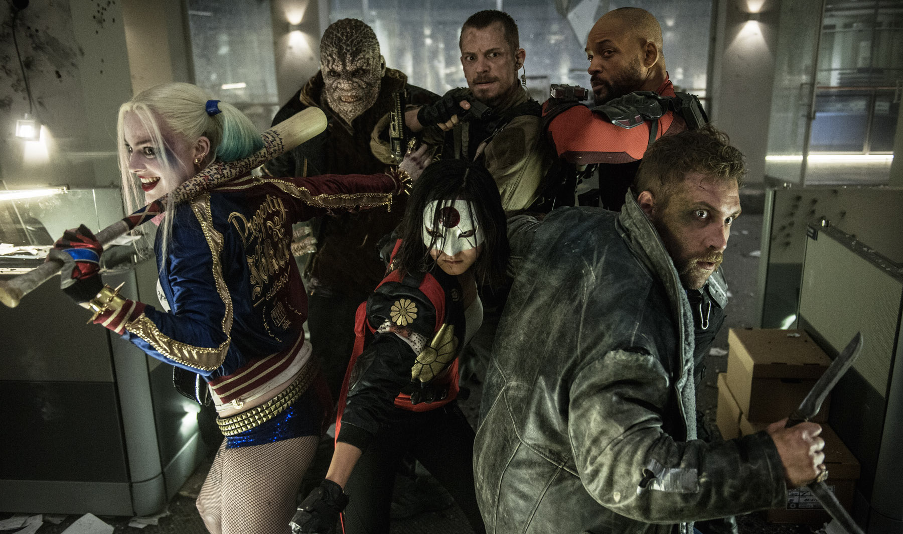Image result for suicide squad team