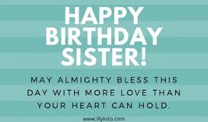 Religious Wishes,Messages,Quotes for Sister Birthday