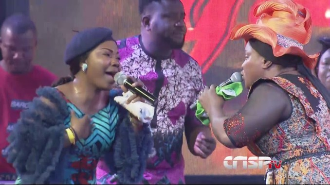 Heavenly Anointed Ministration by Chioma Jesus and Mercy Chinwo. This is  electrifying - YouTube