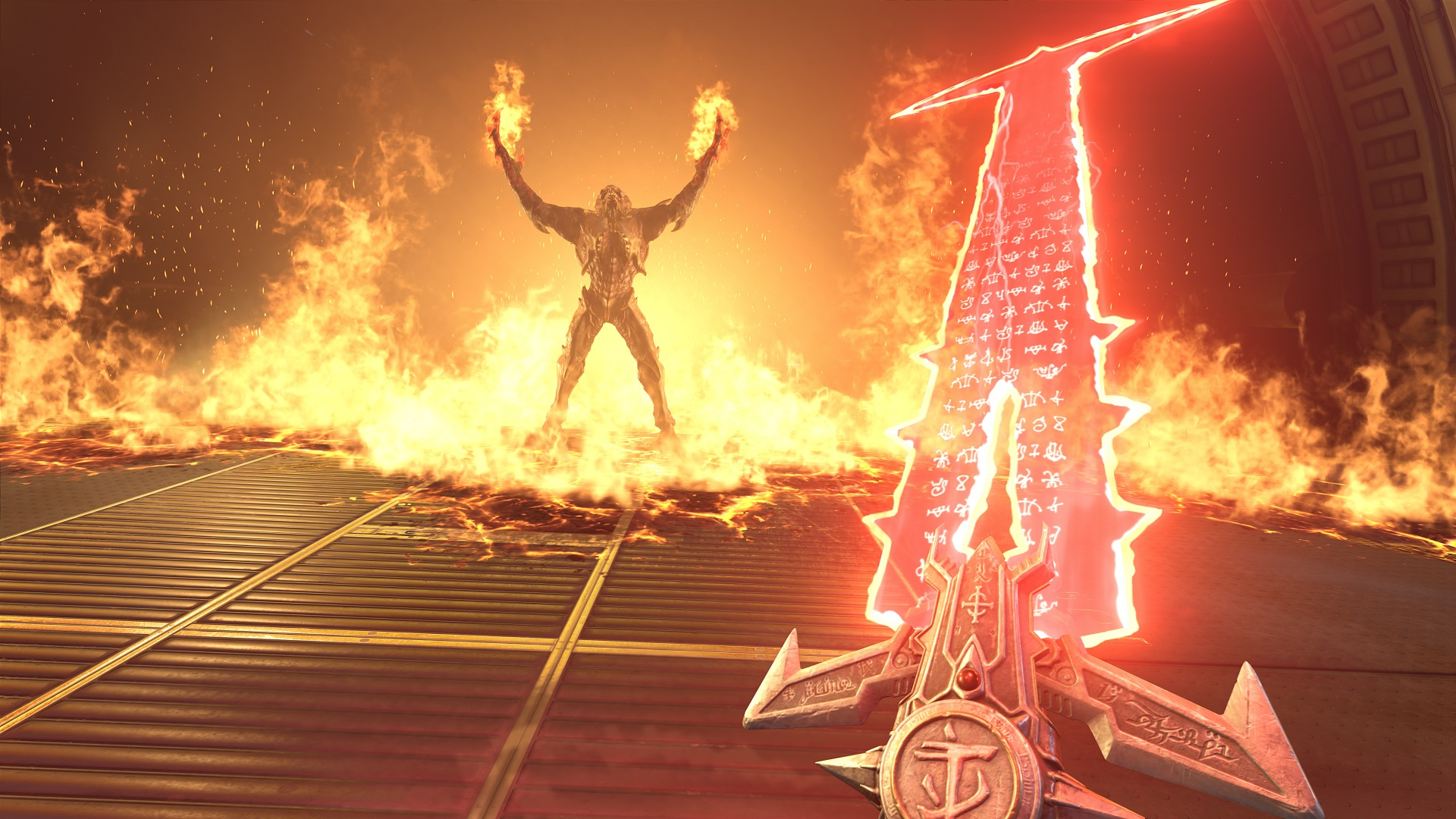 Doom Eternal gameplay shown off at QuakeCon