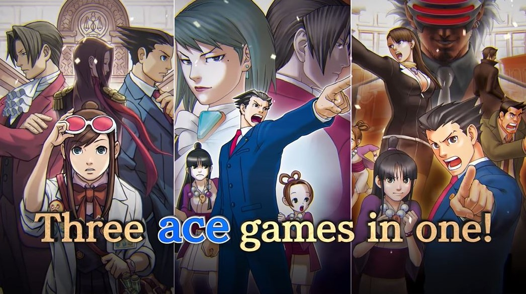 Phoenix Wright: Ace Attorney Trilogy Takes PS4 to Court in 2019
