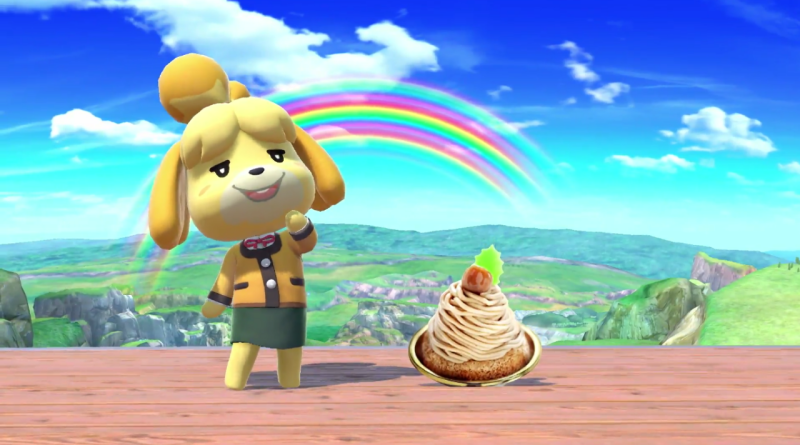 animal crossing coming to switch isabelle joins smash bros