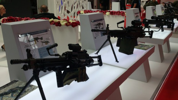 The FN Minimi 5.56 Para TR in different configurations