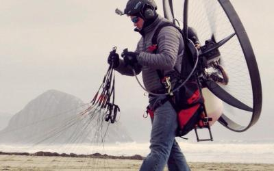 "Scout Paramotor | 1 Way to ""Bug Out"" of anywhere"