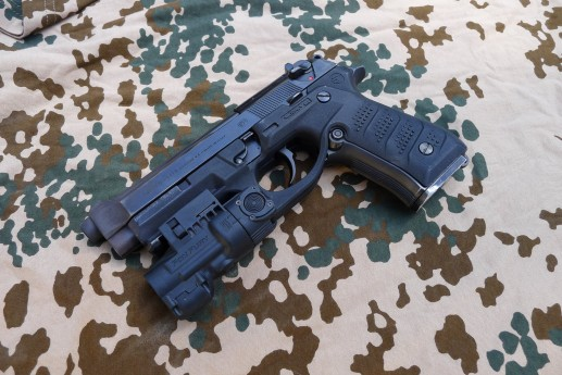 Recover Tactical Beretta 92 Rail Grip: First Impression