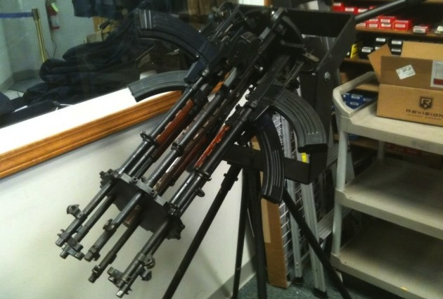 Six SKS Rifles and a Powerful Imagination
