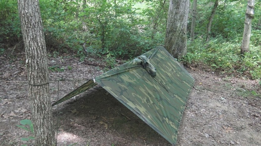 SERE Survival: Low Profile Poncho Shelter