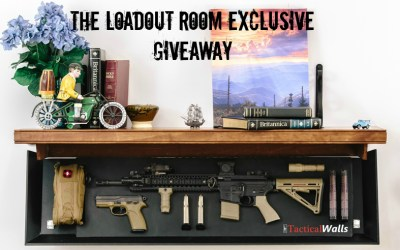 Loadout Room Giveaway: Tactical Walls