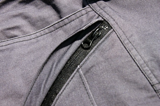 massif arc pant cargo pocket zipper
