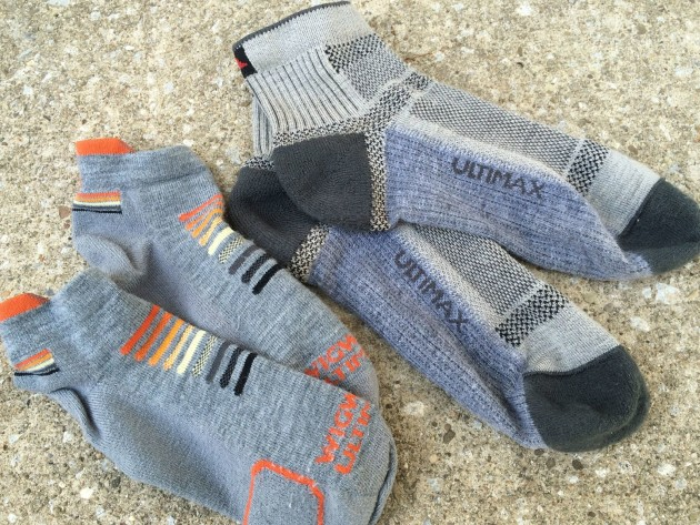 Wigwam Ultimax Trail and Ironman running socks