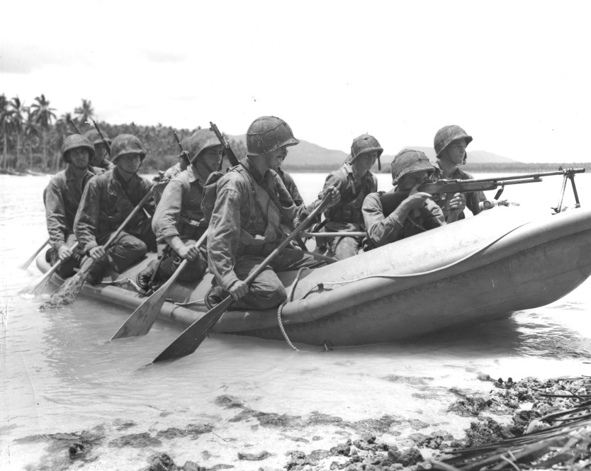 Marine Raiders and Gear of WWII