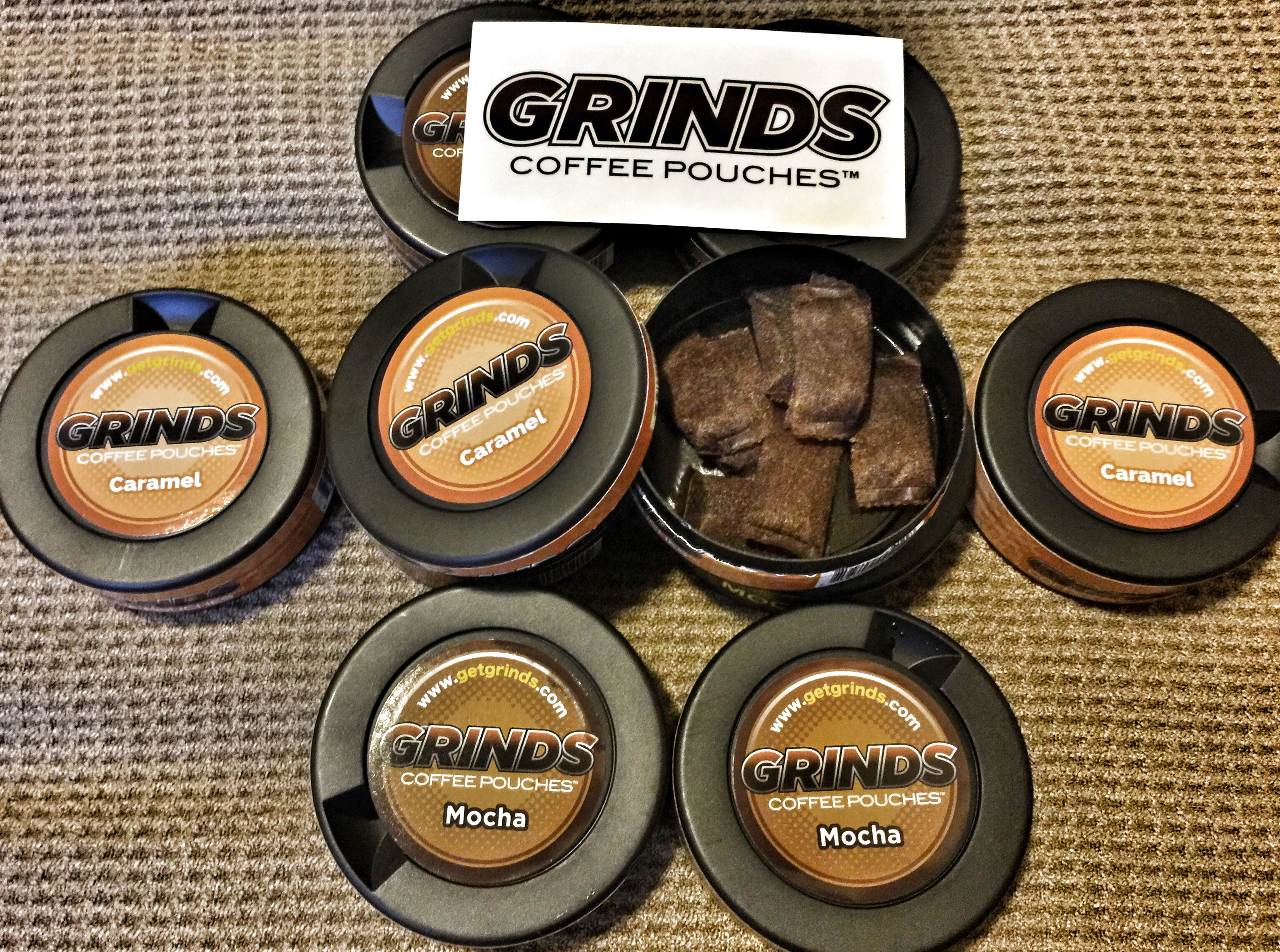 Grinds   A Healthy Alternative to Tobacco   The Loadout Room